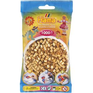 Hama Midi Perler 207-61 Gull - 1000 stk