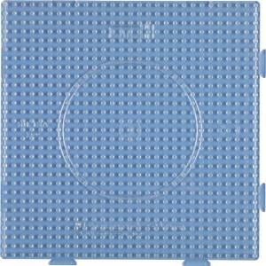 Hama Midi Perleplate Samleplate Firkant Transparent 14,5x14,5cm - 1 stk