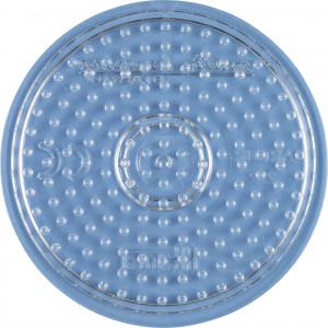 Hama Midi Perleplate Rund Liten Transparent 8,5cm - 1 stk