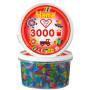 Hama Midi Perler 210-54 Transparent Glitter Mix 54 Bøtte m. 3000 stk