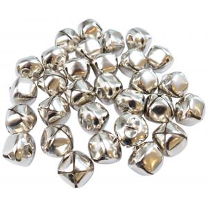 Infinity Hearts Bjælder / Rasleklokker Metal 10 mm - 30 stk