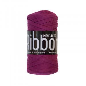 Mayflower Ribbon Stofgarn Unicolor 119 Vinrød