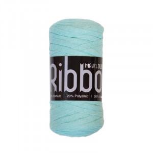 Mayflower Ribbon Stoffgarn Unicolor 123 Mintgrønn