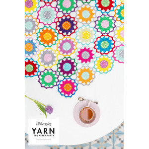 Scheepjes The Garden Room Tablecloth Bright CAL - Duk Heklekit 124 cm