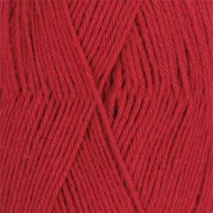 Drops Nord Garn Unicolor 14 Rød