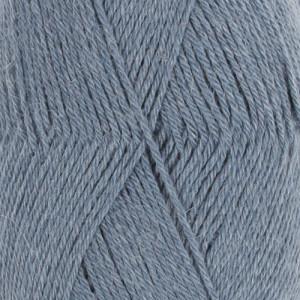 Drops Nord Garn Unicolor 16 Jeans blå