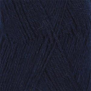 Drops Nord Garn Unicolor 15 Marine Blå