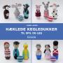 Hæklede kegledukker til spil og leg - Bok av Hanne Larsen