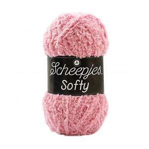 Scheepjes Softy Garn Unicolor 483 Lys Rosa