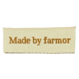 Label Made by Farmor Sandfarget