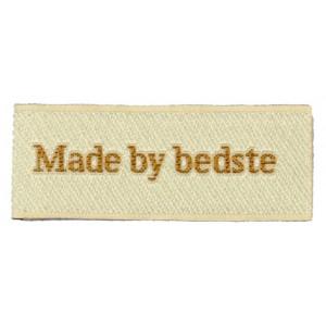 Label Made by Bedste Sandfarget