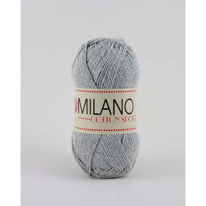 Milano Cotton Sport Garn Unicolor 06 Grå