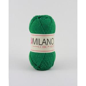 Milano Cotton Sport Garn Unicolor 15 Grønn
