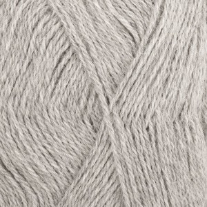 Drops Alpaca Garn Mix 501 Lys Grå
