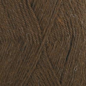 Drops Alpaca Garn Unicolor 601 Mørk Brun