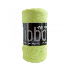 Mayflower Ribbon Stoffgarn Unicolor 129 Lime