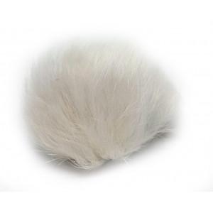 Pompon Dusk Kaninhår Natur 60 mm