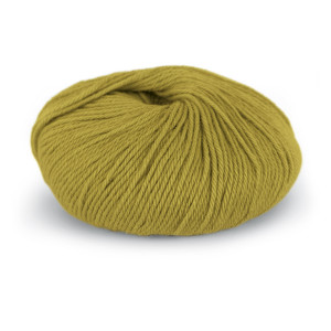 Du Store Alpakka Sterk Garn 843 Gulgrønn
