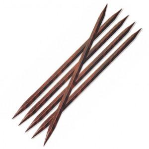KnitPro Cubics Strømpepinner i Tre 20cm 3,50mm US4