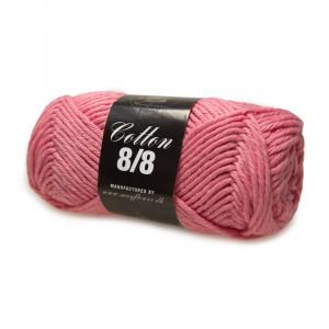 Mayflower Cotton 8/8 Big Garn Unicolor 1921 Mørk Lyserød