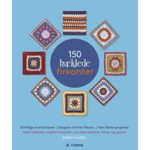 Bilde av 150 Hæklede Firkanter - Bok Av Sarah Hazell
