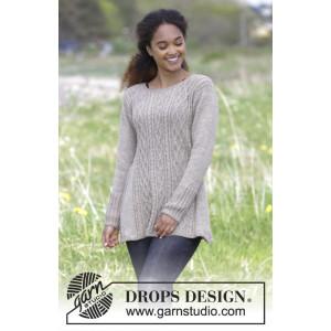 Morgan's Daughter by DROPS Design - Bluse Strikkeopskrift str. S - XXXL