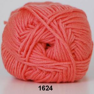 Hjertegarn Merino Cotton 1624 Koral