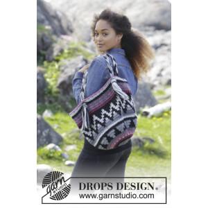 Pueblo by DROPS Design - Veske Hekleoppskrift 86x41 cm