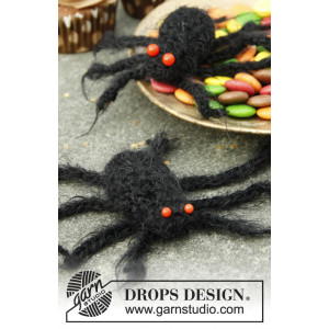 Aragog by DROPS Design - Halloween Pynt Hekleoppskrift