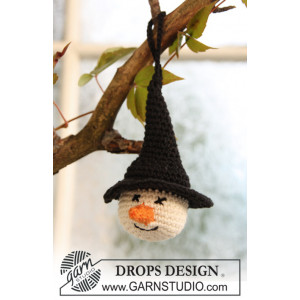 Tabitha by DROPS Design - Halloween Pynt Hekleoppskrift