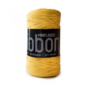 Mayflower Ribbon Stoffgarn Unicolor 133 Oransje