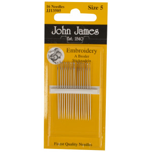 John James Broderinåle Str. 5 - 16 stk