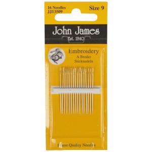 John James Broderinåle Str. 9 - 16 stk