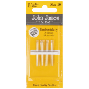 John James Broderinåle Str. 10 - 16 stk