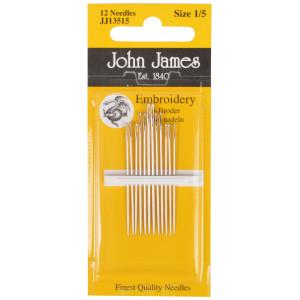John James Broderinåle Str. 1/5 - 12 stk