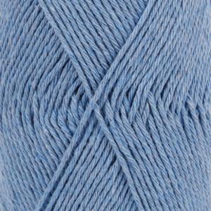 Drops Loves You 9 Garn Unicolor 115 Jeansblå