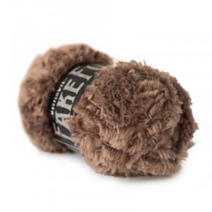 Mayflower Fake Fur Garn Unicolor 06 Brun