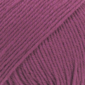 Drops Cotton Merino Garn Unicolor 21 Lyng
