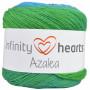 Infinity Hearts Azalea Garn Print 10