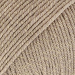 Drops Cotton Merino Garn Unicolor 03 Beige