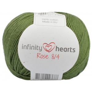 Infinity Hearts Rose 8/4 Garn Unicolor 163 Mørkegrønn