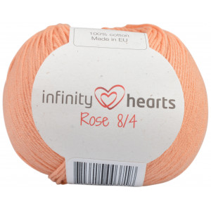 Infinity Hearts Rose 8/4 Garn Unicolor 195 Fersken