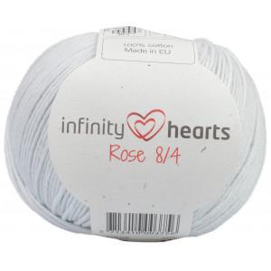 Infinity Hearts Rose 8/4 Garn Unicolor 230 Perlegrå