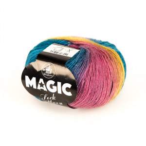 Mayflower Magic Sock Yarn Print 01 Regnbue