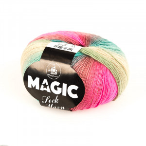 Mayflower Magic Sock Yarn Print 12 Blomstermark