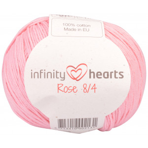 Infinity Hearts Rose 8/4 Garn Unicolor 05 Lys Rosa