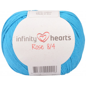Infinity Hearts Rose 8/4 Garn Unicolor 125 Turkis