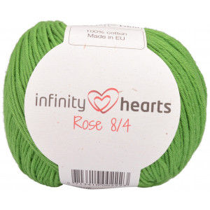 Infinity Hearts Rose 8/4 Garn Unicolor 156 Grønn