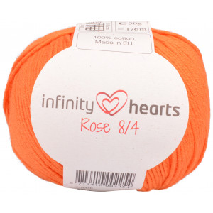 Infinity Hearts Rose 8/4 Garn Unicolor 193 Oransje