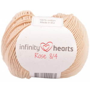 Infinity Hearts Rose 8/4 Garn Unicolor 213 Beige
